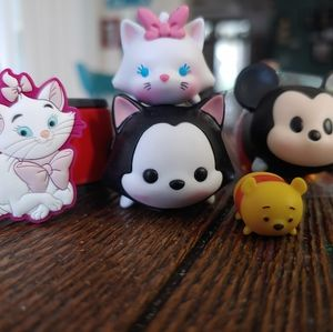 Lot Disney tsum & magic band characters Marie